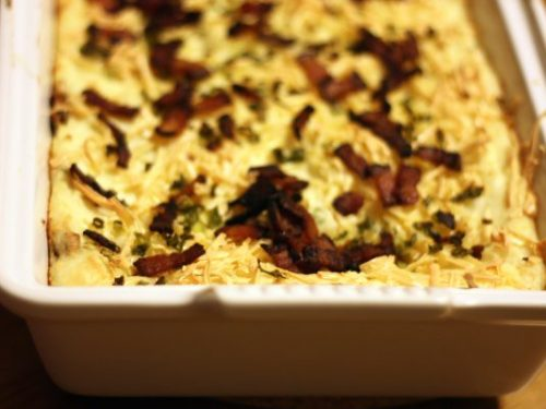 bacon and rice casserole