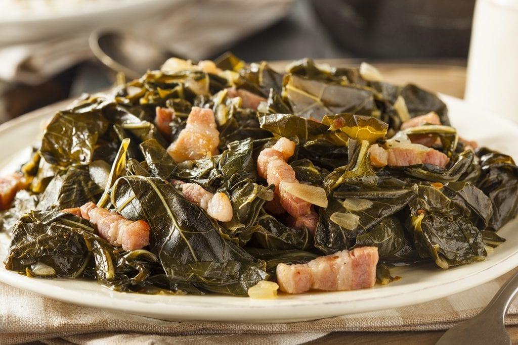 Bacon-Fried Collard Greens Recipe