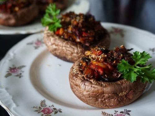 bacon mushroom appetizers