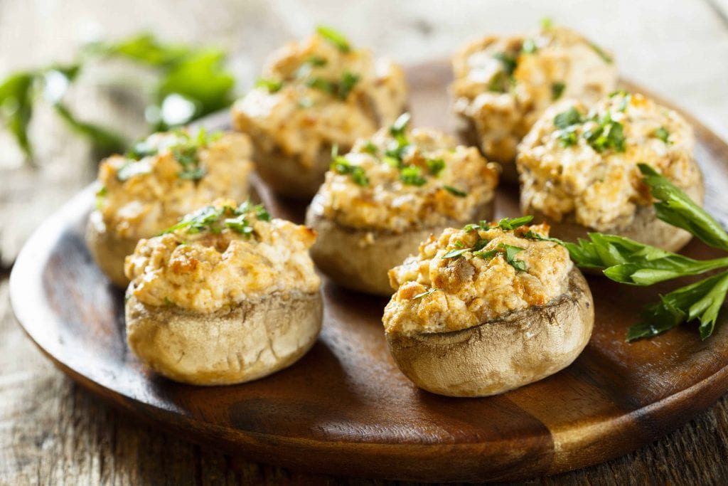 Bacon Stuffed Mushrooms Recipe