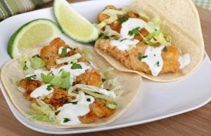 Baja Fresh-Inspired Line-Caught Wahoo Tacos Recipe