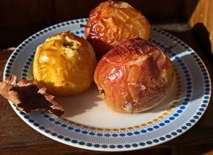 Baked Apples with Feta and Thyme Recipe