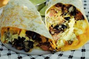 Baked Chicken Burritos Recipe