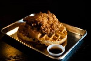 Baked Fried Chicken & Waffles Recipe