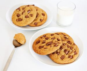Banana Chocolate Peanut Butter Cookies Recipe
