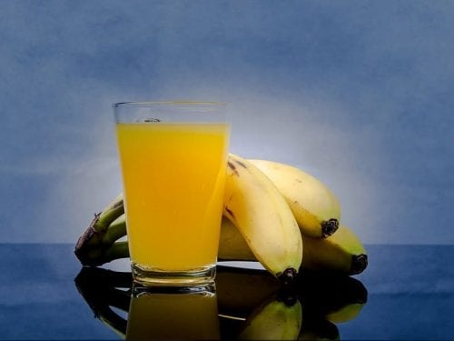 healthy banana fruit punch