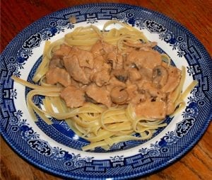 Beef and Mushroom Stroganoff Recipe