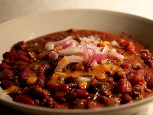 beef and pork chipotle chili with beans pork chili recipe