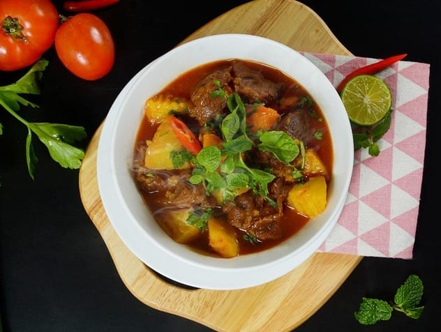 Beef Stew with Winter Vegetables Recipe