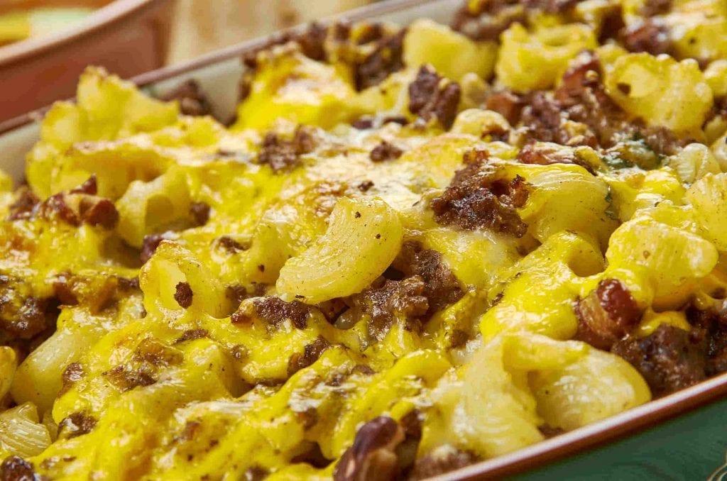 Beef Taco Macaroni Casserole Recipe