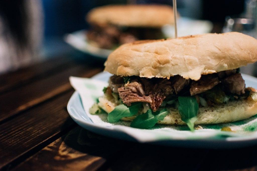 Beer Broth Italian Beef Sandwiches Recipe