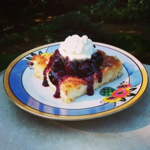 Berry-Topped Blintz Bake Recipe