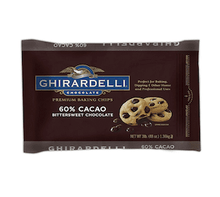 Ghirardelli 60% Cacao Bittersweet Baking Chocolate Chips