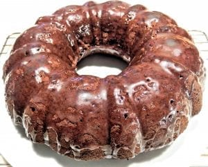 Bittersweet Chocolate Pound Cake Recipe