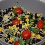 black bean and rice salad recipe
