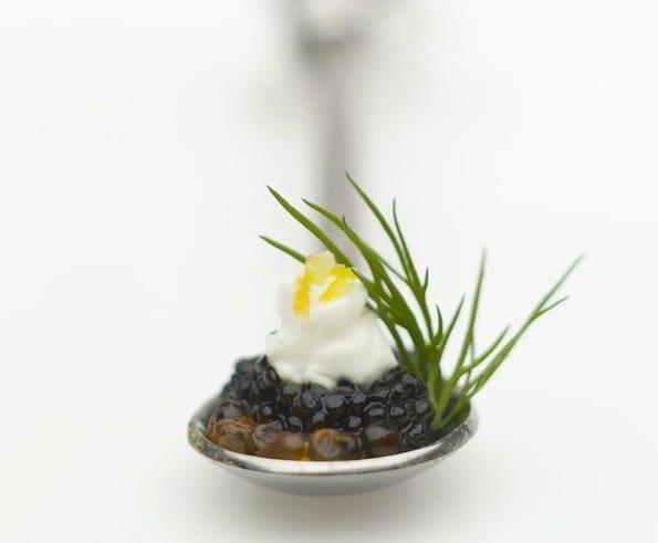 Black Olive Caviar Bites Recipe