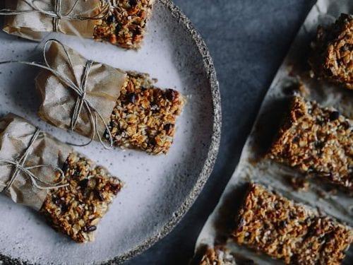 crunchy blueberry granola bar recipe