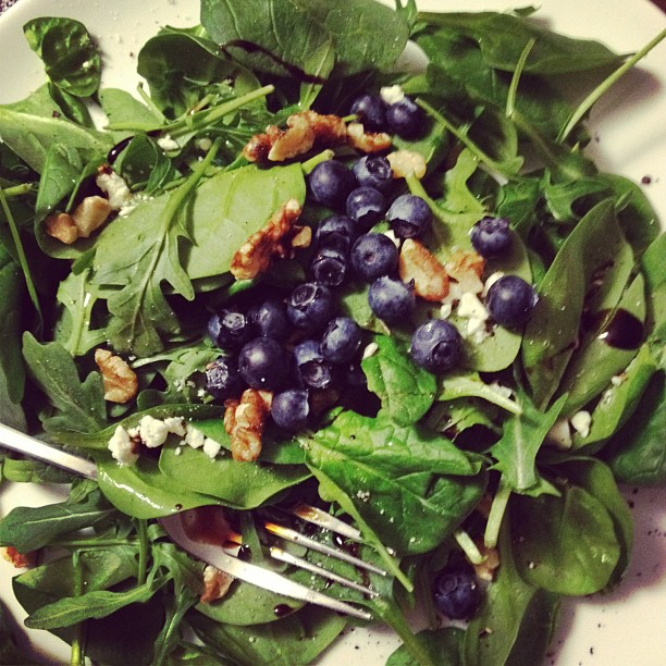 Blueberry Salad Recipe