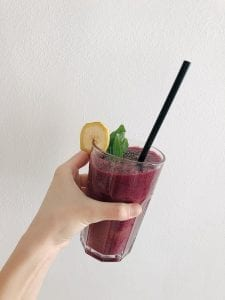 Blueberry Spinach Smoothie Recipe