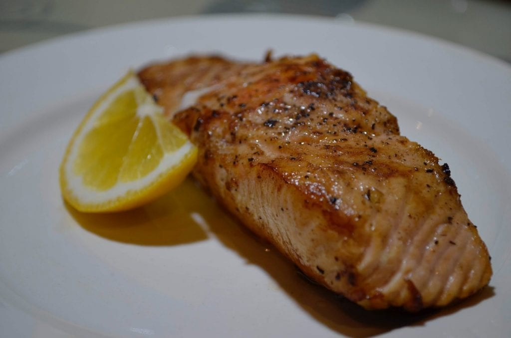 Broiled Lemon Fish Fillets Recipe