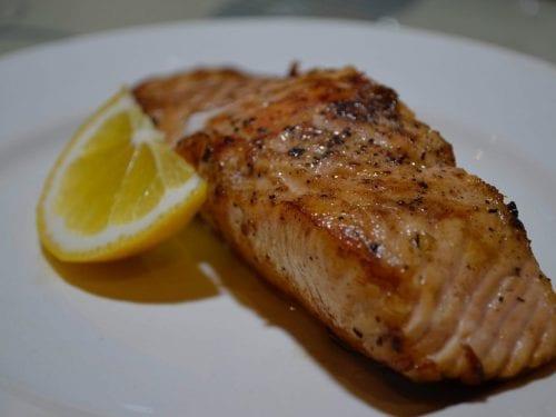 broiled lemon fish fillet