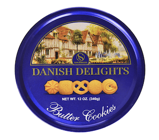 Sherwood Danish Delights Butter Cookies