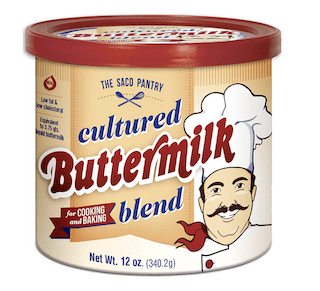 Saco Cultured Buttermilk for Cooking and Baking
