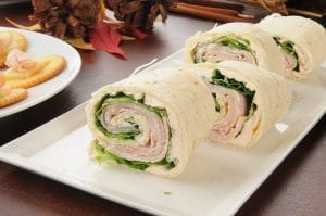 California Pinwheel Sandwiches Recipe