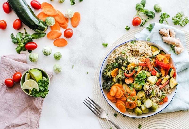 California Vegetable Blend Recipe