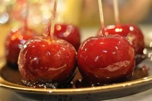Candied Apples For Halloween Recipe