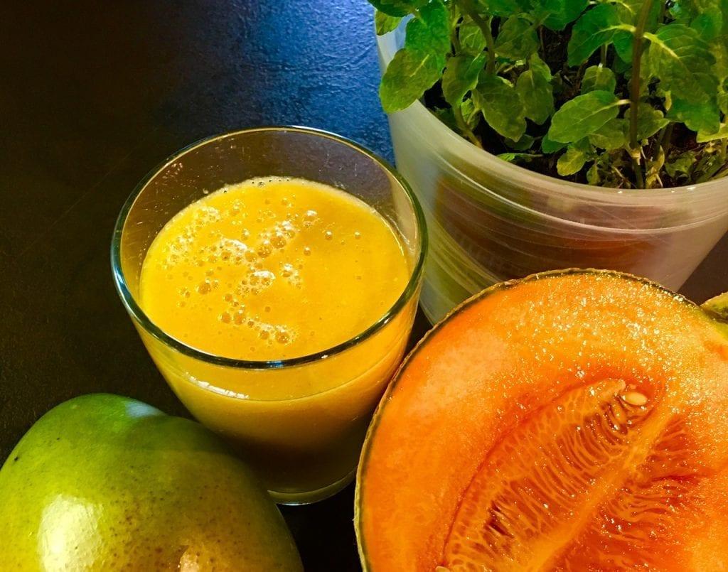 Cantaloupe Smoothie Recipe