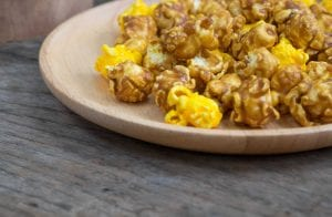 Cheesy Caramel Popcorn Recipe