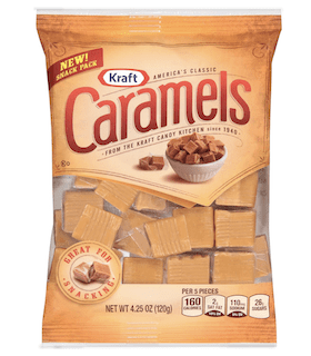 Kraft Caramels Individually Wrapped Candy Squares
