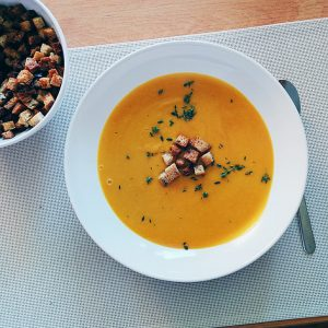 Carrot Apple Soup Recipe