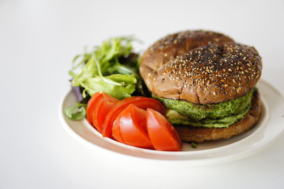 healthy celery burger