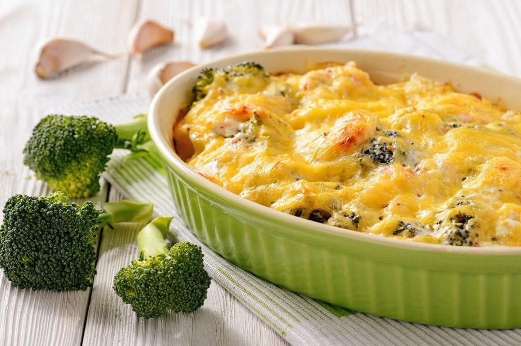 Cheesy Broccoli Salmon Casserole Recipe