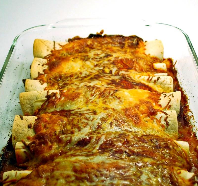 Pork enchiladas with creamy poblano sauce — What's Cooking, Mexico?