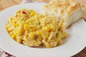 Cheesy Crockpot Chicken And Rice Recipe