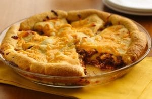 Cheesy Hamburger Crescent Casserole Recipe