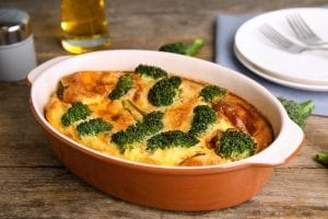 Cheesy Vegetable Crockpot Casserole Recipe