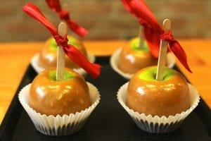 Chewy Caramel Apples Recipe