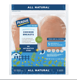 Perdue Perfect Portions, Boneless Skinless Chicken Breast All Natural