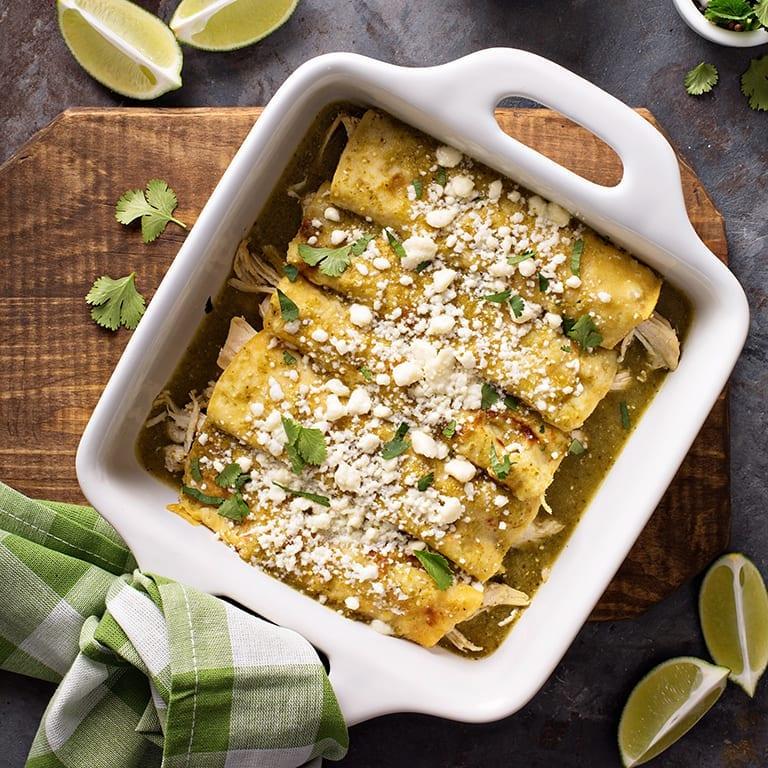Chicken Enchiladas Suiza Recipe