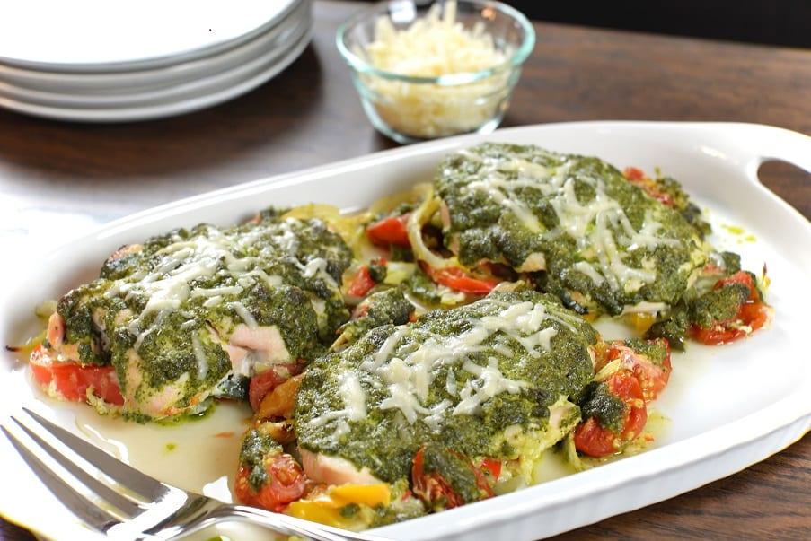 Chicken & Gnocchi in Pesto Sauce Recipe