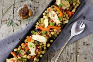 Chopped Chickpea Salad Recipe
