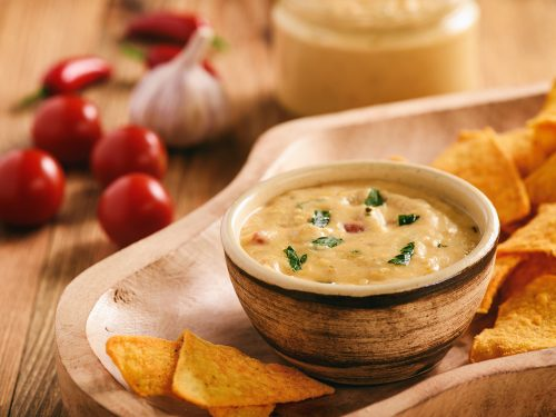 Chili and Cheese Dip Recipe, chili queso dip with green onions, cream cheese, black beans