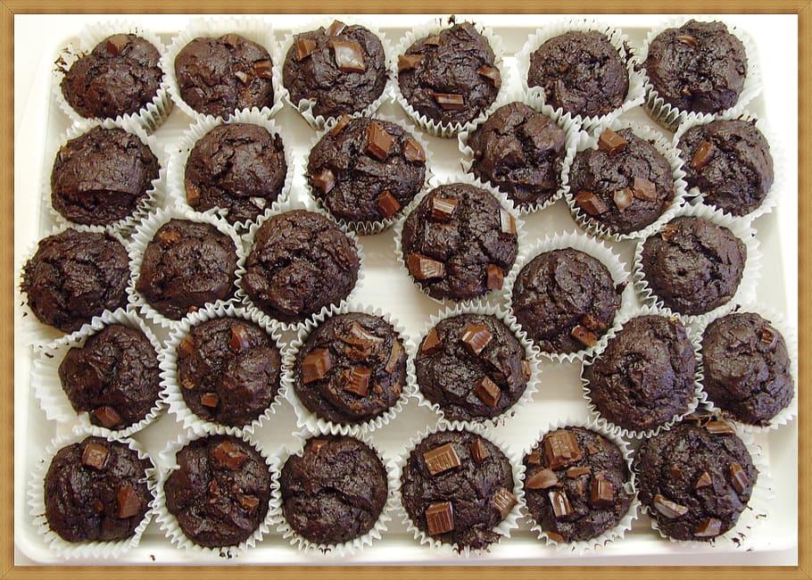 Chocolate Lovers Chocolate Chip Muffins Recipe
