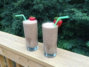 Chocolate Peanut Butter Blast Smoothie Recipe