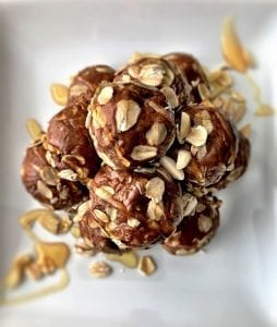 Chocolate Peanut Butter Drops Recipe