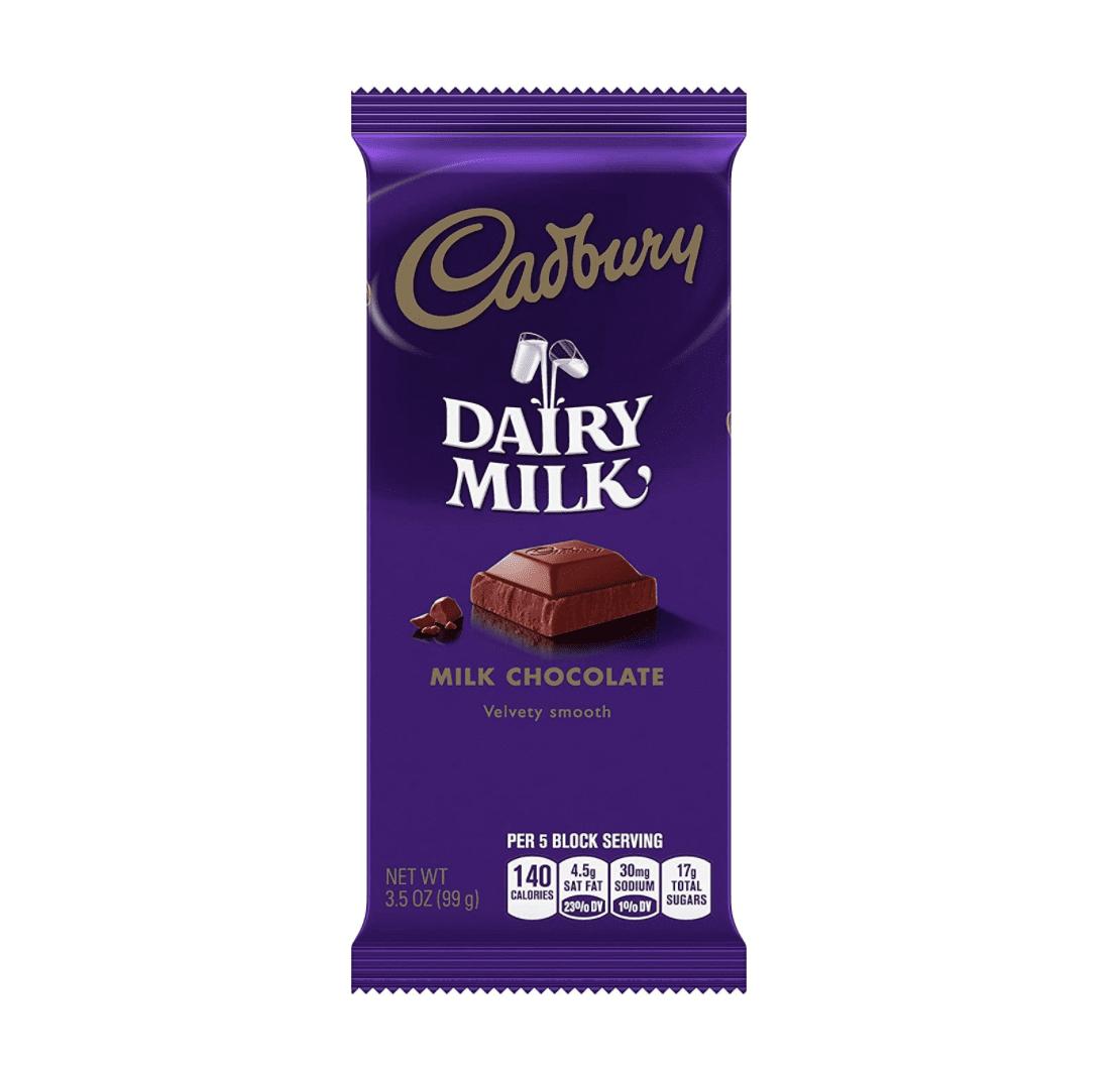 CADBURY Milk Chocolate Candy